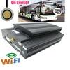 RS485 2TB HDD car mobile dvr 3G remote control