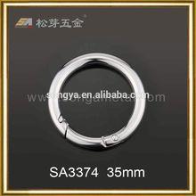 Chrome plated Zinc alloy nfl key ring