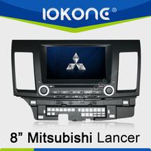 "8"" HD Touch screen mitsubishi lancer lcd dvd player with ipod, usb, dvd, camera, dvb-t"