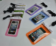 PVC Clear Waterproof Bag For Any Phones Less Than 5.5 Inch