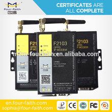 IP wireless 3g modem m2m 3g gsm wcdma hsdpa modem rs232 for PLC,Sensor,Controller,Datalogger F2403 with din rail