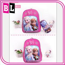 Hot Selling NEW Design Antiwear School Children Frozen Backpack Wholesale