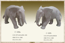 High quality durable sandstone sculpture elephant