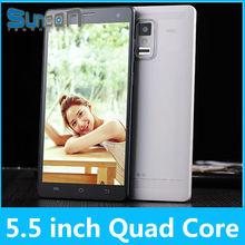 Quad Core MTK6582 5.5 inch 960*540 IPS QHD Screen android dual sim 3g gps good smart phones