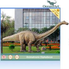 Playground animatronic dinosaur robot for kids