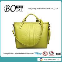 bling bling pu handbag for ladies