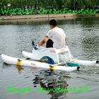 2015Hot Selling USA amusement park Best Top Rental Single-man Fiberglass Seat Inflatable Water Bike Water Bicycle