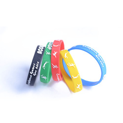 2014 factory promotion silicone wristband cheap bulk jewelry