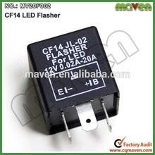 3 pin Motorcycle Car Turn Signal LED 3 pin Flasher Relay 12V CF14 JL-02 Turn Singal Flasher MV20F002