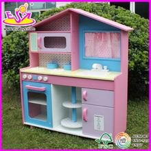 Nuovo 2015 finta cucina giocare, popolari giochi di legno set da cucina e best seller cucina w10c015 giochi di legno