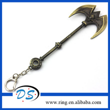 League of Legends LOL Darius weapon key ring key chain