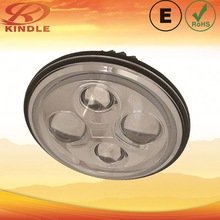 crbide lamp exporter 7inch Auto LED Headlight with Angel Eyes For Ford Mustang