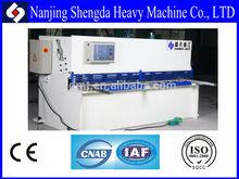 Price of High Quality Hydraulic CNC shearing machine, price of CNC guillotine shear machine, cutting machine