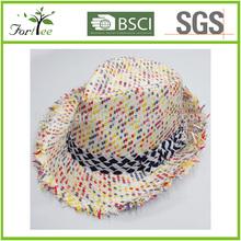 2014 fashion custom straw hat
