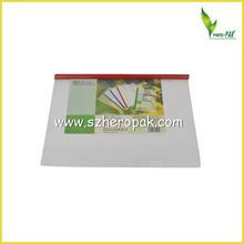 a4 pp varilla de bombeo de cubierta transparente carpeta de informe