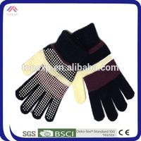cheap soft winter led magic gloves