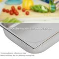 De la categoría alimenticia LFGB y NSF aprueba inoxidable de alta resistencia de acero gn pan cocina triturador de desperdicios