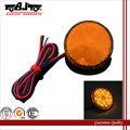 Bj-bl-002 ronda led de luz de freno de la motocicleta de color rojo reflector pasiva