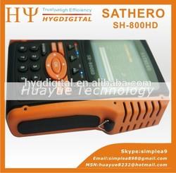 3.5'' HD Satfinder SATHERO SH-800HD supporting TP Scan, NIT Scan, Blind Scan for worldwide SATLINK WS-6939
