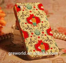 Korean glittering TPU soft mobile phone case prestigio phone case with retro patterns For Iphone 5 5S