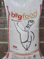2014 agrícola da china fabricação de alta qualidade de polietileno saco 25kg