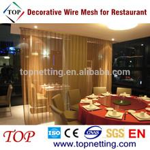 Decorative Wire Mesh for Restaurant/Hotel