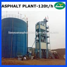 LB1500 high-performance used asphalt production plant 120tph