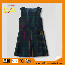 School Uniform Factory cheap price wholesale school girl dress