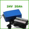 Ev batería de 12v 24v 20ah 24 voltios de iones de litio de la batería recargable de la batería para ev, e- bicicleta, carrito de golf