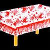"""54"""" X 108"""" Halloween pumpkin bats Table Cloth Oblong"""