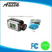 1.5LED mini design outdoor sport camera H.264 32G memory