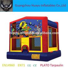 Inflatable halloween Moonwalk,inflatable bounce house for halloween,Halloween inflatable bouncy