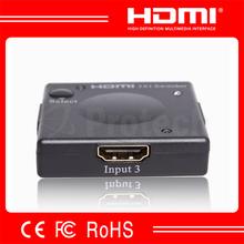 1 Year Warranty V1.3 Mini HDMI Switch 3x1 With ABS Housing