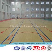 Vinyl high gloss basketball floor products