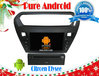 CITROEN Elysee Android 4.2 audio cd player RDS,Telephone book,AUX IN,GPS,WIFI,3G,Built-in wifi dongle