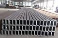 seção retangular forma e tratamento superficial galvanizado tubulação de aço