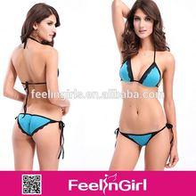 professional high quality 2014 hot open sex girl bikini models