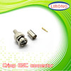 rg59&rg6 Crimp BNC connector for Coxial cable to CCTV camera