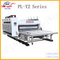 caja de cartón ondulado de impresión de la máquina de asignación de fechas para la caja de las plantas