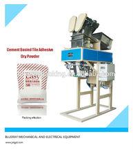 25KG cement basied tile adhesive powder packing machine, 3~4 BAG PER MINS