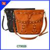 Spring and Autumn Series Custom Fashion Lady Leather Tassel Handbag