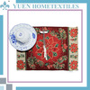 Selling Jacquard Christmas tapestry silicon bamboo table mat