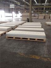 Fiber cement flat roof tiles