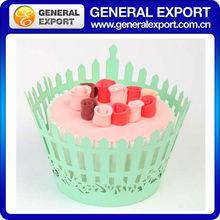 KC36050 Wedding and party decoration 12 pcs laser cut cupcake wrapper