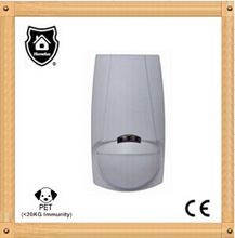Dual element infrared and microwave PIR detector