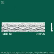 Gypsum Cornice/Ceiling Medallion/Ceiling Panel House Interior Ceiling Decoration