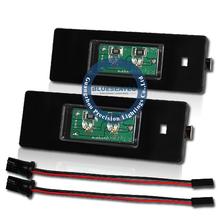 LED license plate light 10W E87 with 194 T10 socket Osram Chip canbus inside E87 E63 E46 LCI E89 F20 F12 F13