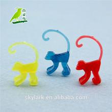mini plastic toy monkey for sale
