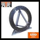 Military Heavy Equipment External Gear Single Row Ball Slewing Ring