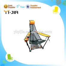 adjustable metal polyester beach chair Leisure Life rattan cheap outdoor beach chairs